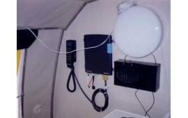 Спутниковый телефон TT-3064A Инмарсат в каюте речного судна Метеор.